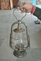 Vintage DITMAR Iron Handcrafted Kerosene Lamp / Lantern ,Austria