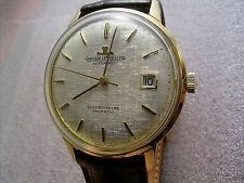 Jaeger-LeCoultre GEOMATIC Chronometer, 18 Karat Gold, K 881 G, E398, 60er Jahre