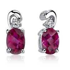 Gioielli di lusso ovali rubino