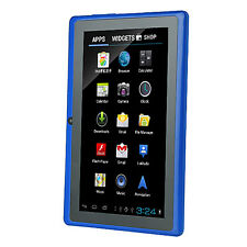 """4GB 7"""" Q88 Capacitive Android 4.2 Tablet PC 1.2GHz Wifi G A23 Blue Dual Core W"""