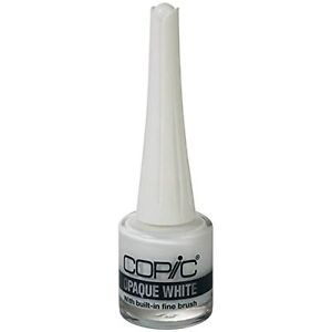 New .Too Copic Opaque White 7ml (with Brush) / 30ml Design Illustration Artwork
