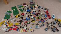 Lego Konvolut Space Weltraum Police Autos Fahrzeuge Tieflader Octan Figuren EW01