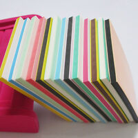 1pc Multicolor 3 Layers Rubber Stamp Carving Blocks For your Own Stamp Upick