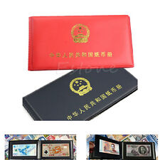 Paper Money Holders Storage Collection Pockets Album Book Collecting NEW