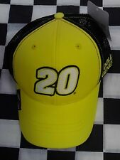 Matt Kenseth #20 NASCAR Ball Cap Hat NEW Dollar General Black & Yellow