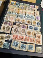 Deutsches Reich Dienstmarken-Lot, meist gestempelt, Briefstück 1927-1938