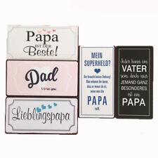 5 Kühlschrankmagnete Set Papa Vater Magnet im Shabby Style Geschenkidee