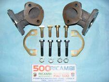 FIAT 500 F/L/R 126 KIT COMPLETO COPPIA COLLETTORE SCARICO MARMITTA + KIT BULLONI