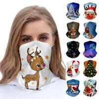 Unisex Cover Weihnachtsdruck Schal Insektensicherer Sonnenschutz Multifunktional