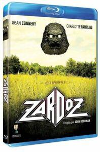 Zardoz (1974) Blu Ray Sean Connery Charlotte Rampling