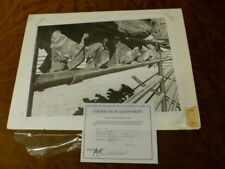 ALLAN JOHNSON COWBOY BOOTS SPURS ON A FENCE PRINT 19/450 SIGNED # 20X26 WESTERN