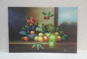 Dipinto...olio su tela ,quadro.idea regalo di Natale  ,natura morta