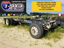 2001 STERLING DUMP TRUCK FRAME AND SUSPENSION  TAG # 11033 Body / Bed