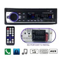 Car Radio Bluetooth Stereo Head Unit MP3/USB/SD/AUX-IN/FM In-dash Player 1DIN AQ