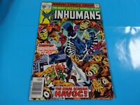 inhumans # 10 issue marvel Comic book Bronze 1st print
