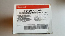 VINTAGE HONEYWELL CHRONOTHERM THERMOSTAT # T8190 A 1006