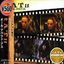 T.A.T.u. Tatu All About us-CD/single-Giappone import