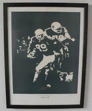 "1996 ""Pure Cotton"" limited edition print of the Cotton bowl Oregon Ducks Coa"