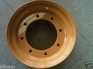 Case 480E 480ELL LANDSCAPE Backhoe 4x4 4wd FRONT RIM wheel New D126930 12 X 16.5