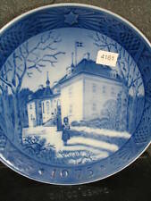 Royal Copenhagen 1975 The Queen'S Christmas Residence Annual Plate Guard Palace