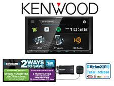 """New listing Kenwood Ddx794 6.95"""" Dvd Receiver Built in Bluetooth Hd Radio SiriusXm Radio"""