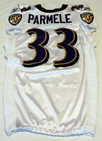 #33 Jalen Parmele of Baltimore Ravens NFL Game Issued Jersey - BR1694