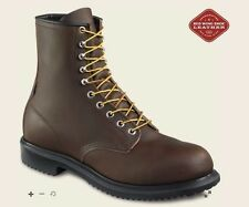 "New RED WING 2233 Safety Toe 8"" Work Boots Men's Size 7.5 E (US) RETAIL $219"