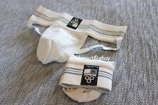 McDavid Men white athletic supporter jock straps jockstraps pack (2 pairs) S, L