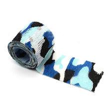 1PC Ocean Camo Nonwoven Self-adhesive Bandage Elastic Gauze Sport Wrap 5cm*4.5m