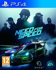 Need for Speed  playstation 4 ( PS4 )