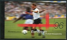 Great Britain Complete Prestige Booklet '96 European Football Championship Nh