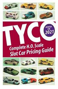 2021 Official TYCO Price Guide Slot Cars for Collectors! (5.5 by 8.5)
