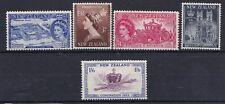 Nuova Zelanda New Zealand 1953 Incoronazione della Regina Elisabetta 360-64 MNH
