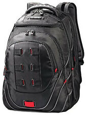 "Samsonite Luggage Tectonic 17"" Perfect Fit Laptop Backpack - Black / Red"