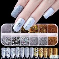 Elegant Nail Art Glitter Powder Dust for UV Gel Acrylic Manicure Sequins Decor