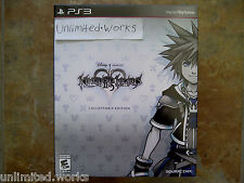 Kingdom Hearts HD 2.5 ReMIX II.5 Collector's Edition PS3 Brand New Sealed