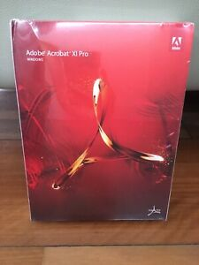 Adobe Acrobat XI 11 Pro / Professional Win English NEW Sealed  DVD AU store