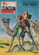 JOURNAL DE TINTIN N° 525 NOV. 1958 - COUVERTURE LAWRENCE D'ARABIE PAR FUNCKEN