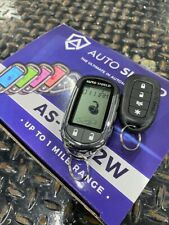 car alarm system 2 way remote start