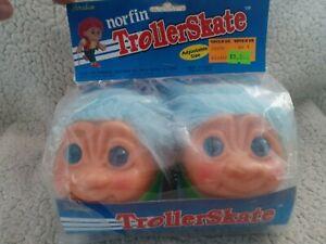 -Vintage 1992 Norfin Trolls TROLLERSKATES Roller Skates NEW In Package RARE!