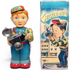 1950s SHUTTER BUG Battery Toy by TN, JAPAN Photography Boy RARE!