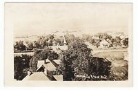 1900's RPPC CUSHING IA PANORAMIC VIEW VINTAGE REAL PHOTO POSTCARD IOWA OLD NICE