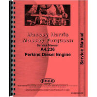 MH-S-ENGA4.236 Fits Massey Ferguson 394F Tractor Engine Service Manual