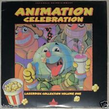 ANIMATION CELEBRATION LASERDISC COLLECTION VOL 1 ~ LaserDisc ~ LVD ~ LASER DISC