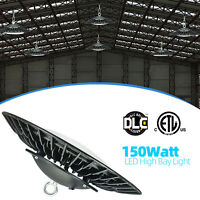 LED High Bay Warehouse Light Bright White Fixture Factory 150W COB Equivalent