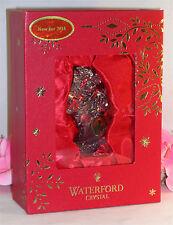 New Waterford Christmas Wonders Lead Crystal Tree Ornament Bear on Rocking Horse