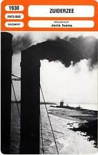 FICHE CINEMA : ZUIDERZEE - Joris Ivens 1930 Zuiderzeewerken