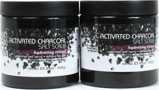 2 Dead Sea Collection Activated Charcoal Salt Scrubs Hydrating Retinol 23.28oz