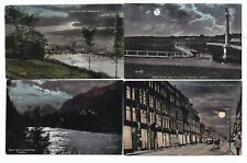 CANADA by Night x12 c1900s PPCs published by Valentine some edge scuffing