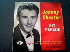JOHNNY CHESTER THE THUNDERBIRDS EP RECORD HIT PARADE AUSTRALIA